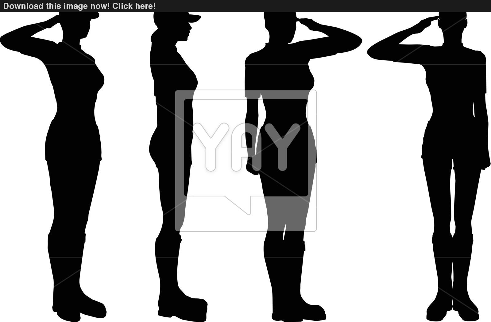 1600x1051 Soldier, Officer, Captain, Policeman Saluting Vector
