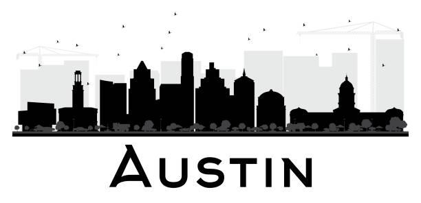 612x296 City Clipart Austin Skyline