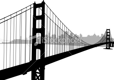 380x268 Golden Gate Bridge With San Francisco Skyline Golden Gate Bridge