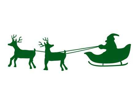 453x340 Free Cliparts Silhouette, Child, Santa