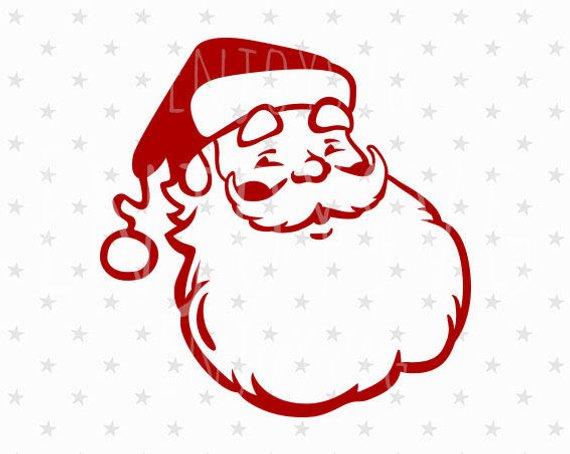 570x454 Santa Svg Santa Svg File Santa Svg Vintage Santa Svg Santa