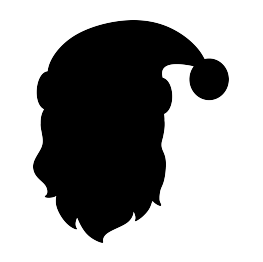 263x262 New Silhouettes Santa Claus And More