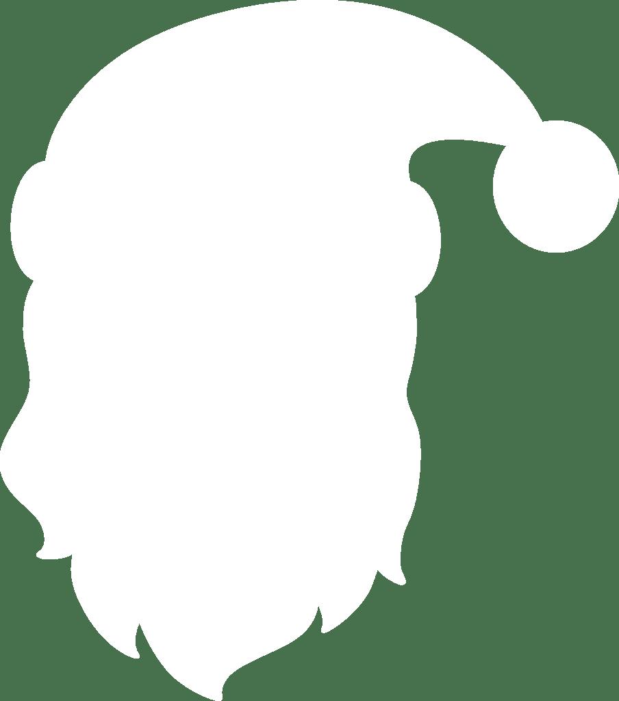 904x1024 Santa Claus Head Silhouette By Paperlightbox