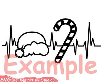 350x283 Heart Silhouette Svg Cutting Files Clipart Santa Hat Outline 66sv