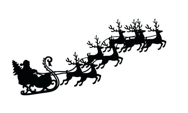 600x361 Santa Sleigh And Reindeer Expatworld.club