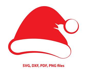 340x270 Santa Claus Hat Svg Clip Art Christmas Santa Hat So Easy