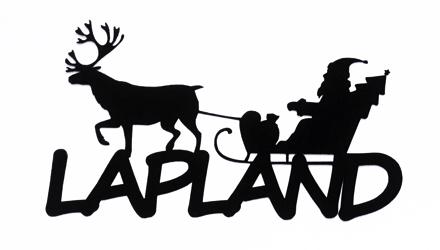 440x250 Lapland Christmas Scrapbooking Title
