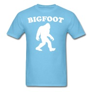 190x190 Classic Bigfoot Silhouette Sasquatch T Shirt By Kwg2200 Spreadshirt