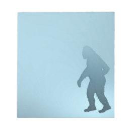260x260 Bigfoot Sasquatch Notepads Zazzle Uk
