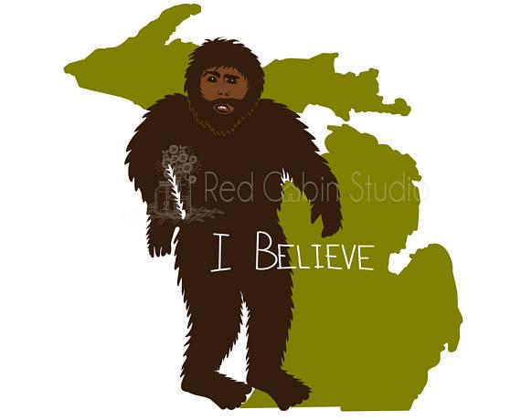 570x460 Michigan Bigfoot Sasquatch I Love Bigfoot I Love You