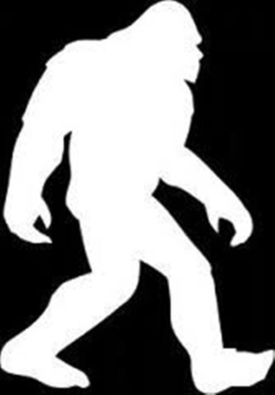 sasquatch silhouette clip art at getdrawings com free for personal rh getdrawings com