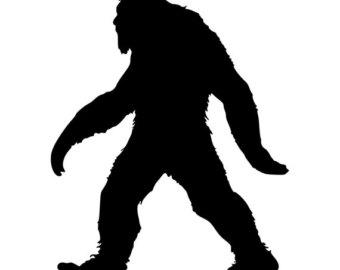 340x270 Bigfoot Sasquatch Die Cut Decal Car Window Wall Bumper Phone