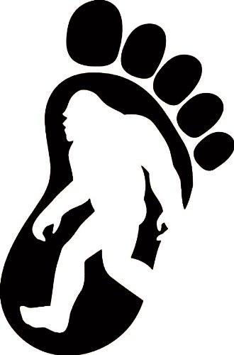 330x500 Bigfoot Stickers