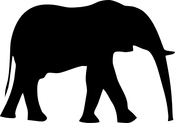 600x423 Free White Elephant Clipart, Hanslodge Clip Art Collection
