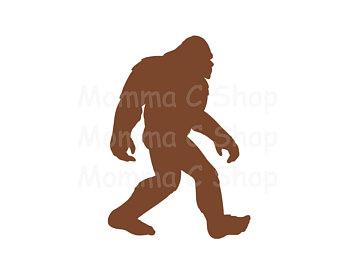 340x270 Bigfoot Decal Etsy Studio