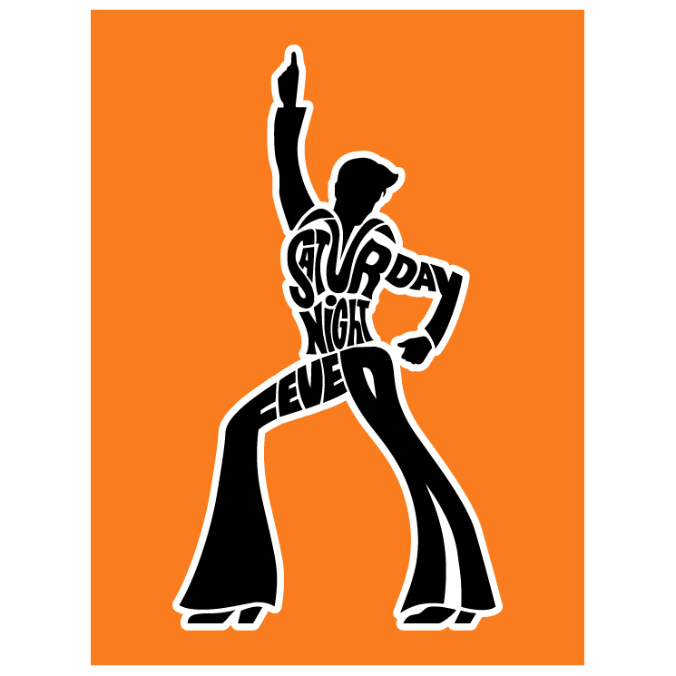745x745 Saturday Night Fever Free Vector 4vector