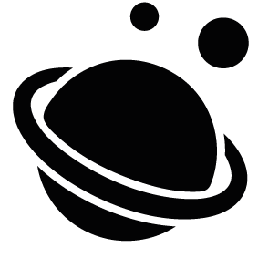 283x283 Planet Saturn Silhouette Silhouette Of Planet Saturn
