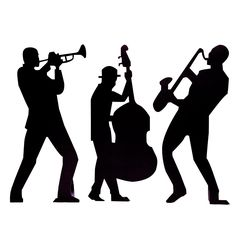 236x236 Wall Decals Sax Player Men, Music, Concert, Solo, Sax, Famous