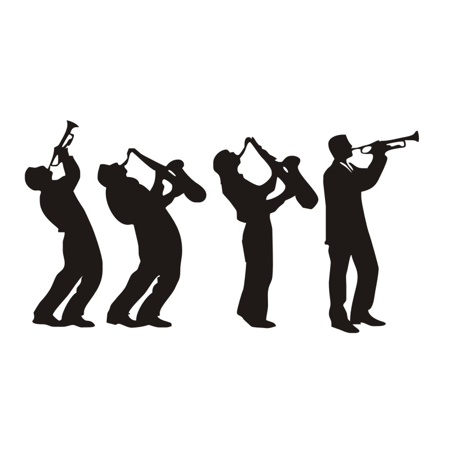Saxophone Silhouette