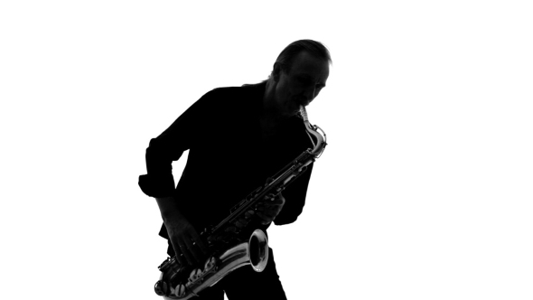 590x332 Silhouette Of Musician Playing The Saxophone By Lovevision Videohive