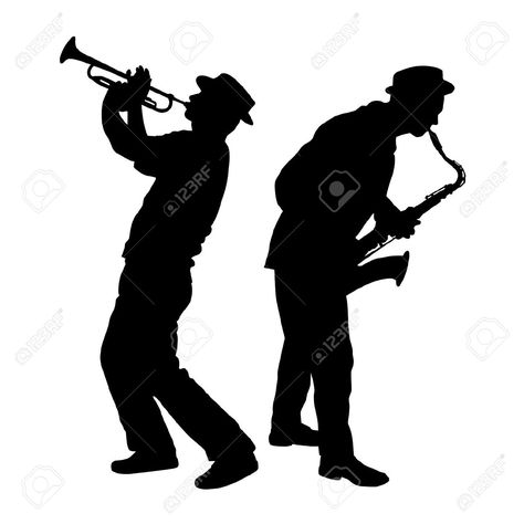 Saxophone Silhouette Clip Art