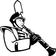 225x224 Marching Band Silhouette Saxophone Stock Image Clipart