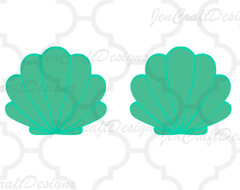 340x270 Shell Clipart Mermaid