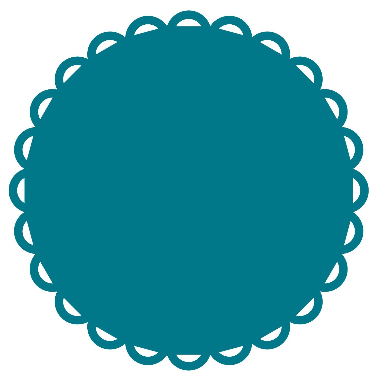 1500x1500 Circle Scallop Border Circle Scallop Make These Decals