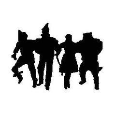 236x236 Wizard Of Oz Clipart Silhouette