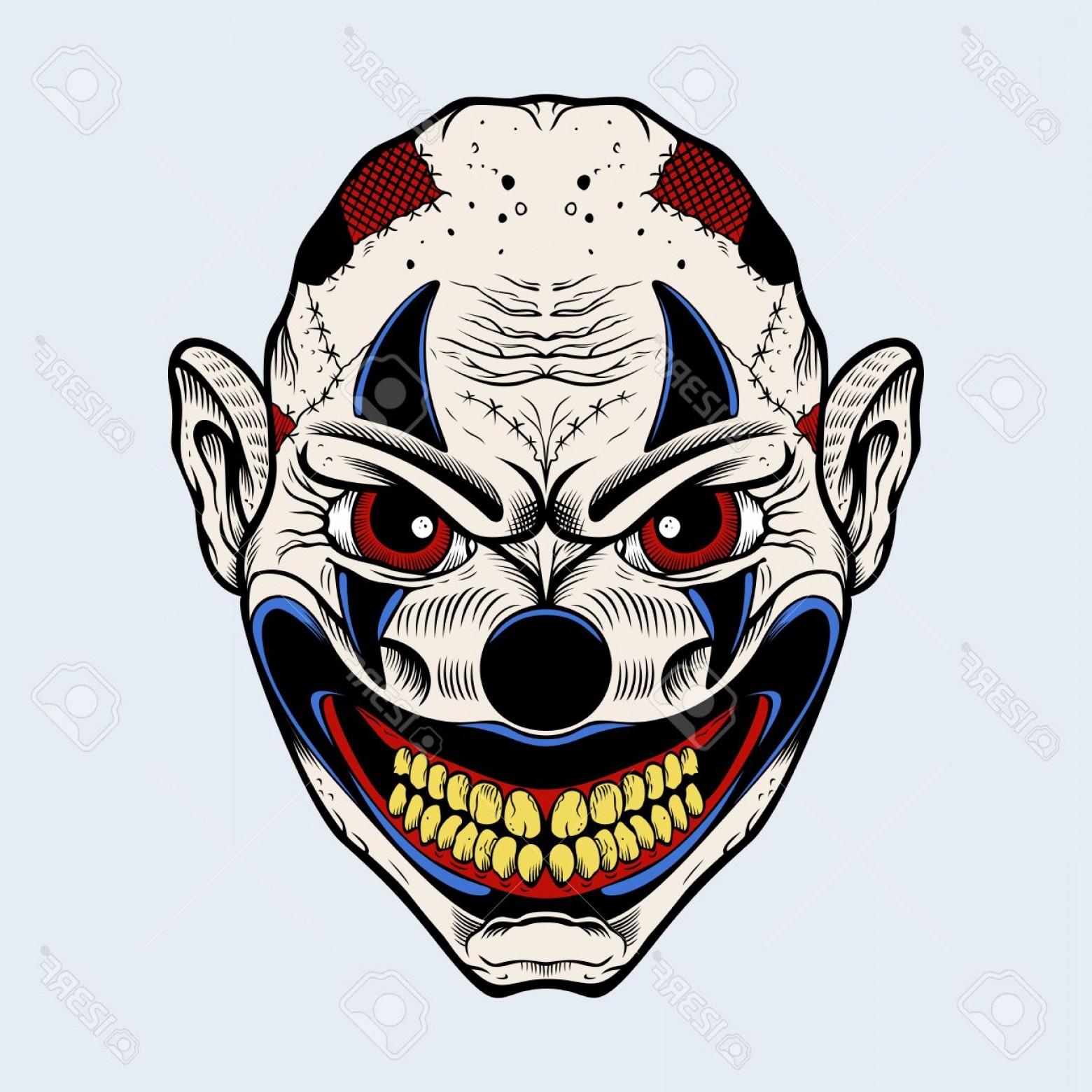1560x1560 Creepy Clown Vector Createmepink