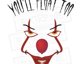 340x270 Pennywise Clown Svg Etsy