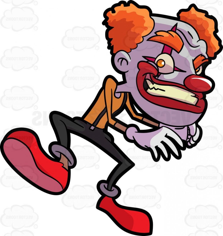 1162x1228 A Creepy Clown With Orange Hair Createmepink