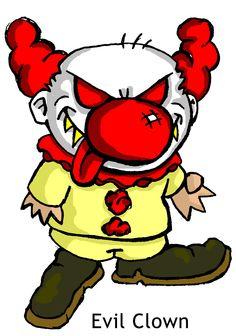 236x336 A Scary Short Clown