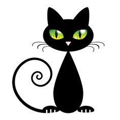 236x236 Black Cat With Green Eyes Green Eyes, Black Cats And Black Cartoon