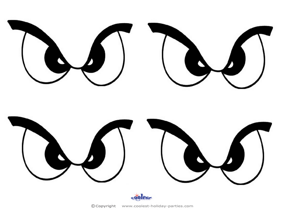 photo relating to Printable Eyes Template titled printable eyes template -