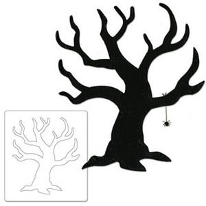 300x300 Bare Tree With Spider Black Die Just A Few Off My Sizzix Dies