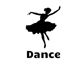 355x266 Dance Silhouette Girl Dance Design Room Design Scenery