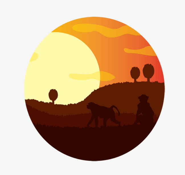 650x617 Sunset Scenery, Sunset, Asahi, Landscape Png And Vector For Free