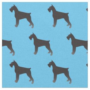 307x307 Schnauzer Dog Fabric