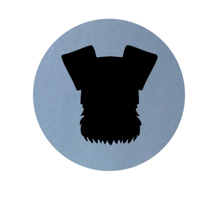 Schnauzer Dog Silhouette At Getdrawings Com Free For