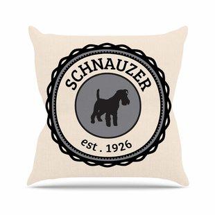 310x310 Schnauzer Pillow Wayfair