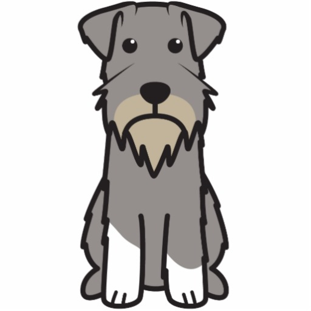 schnauzer silhouette at getdrawings com free for personal use rh getdrawings com schnauzer clip ears back schnauzer clipart free