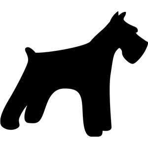 schnauzer silhouette clip art at getdrawings com free for personal rh getdrawings com schnauzer clipart images schnauzer face clip art