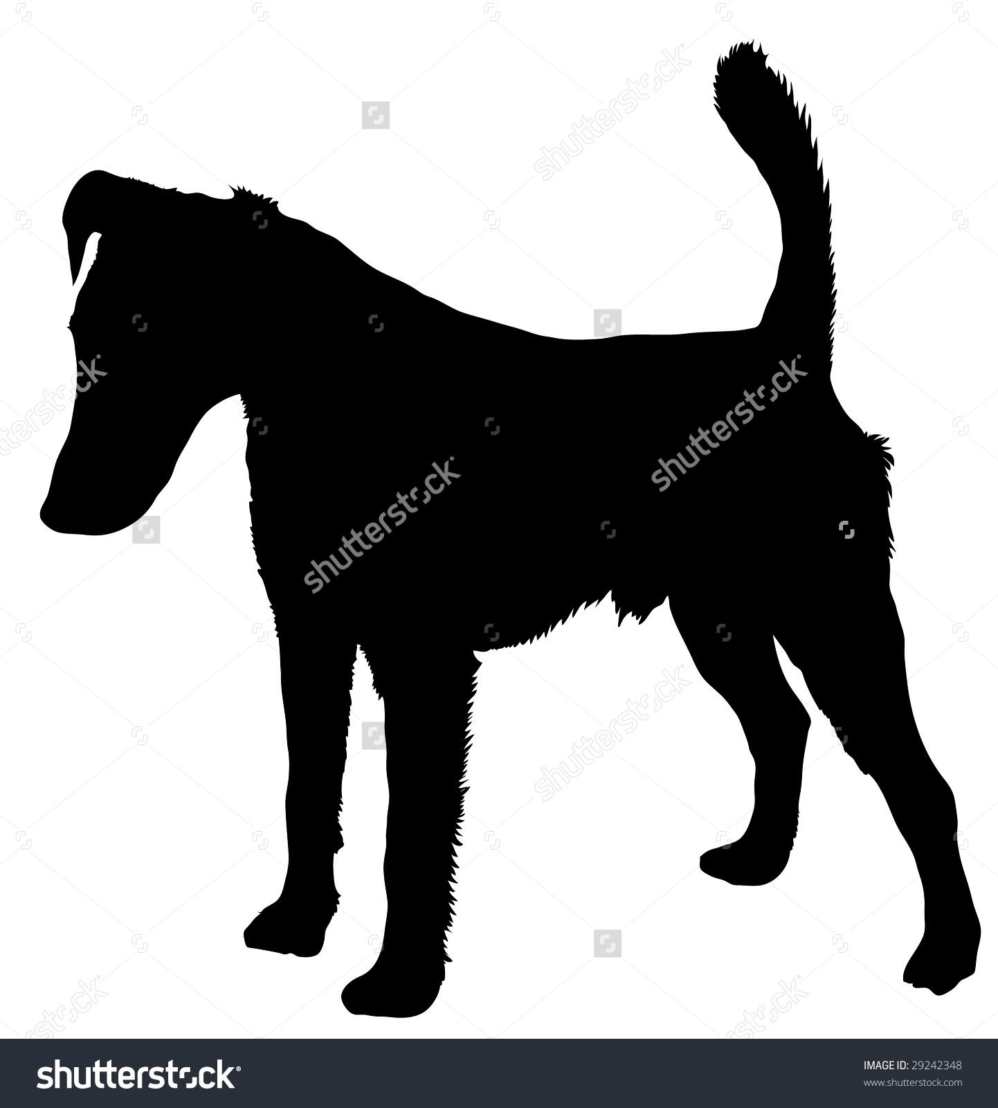 1442x1600 Miniature Smooth Fox Terrier Clipart