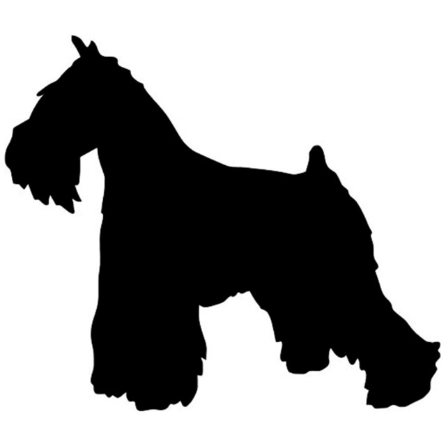 schnauzer silhouette clip art at getdrawings com free for personal rh getdrawings com schnauzer clipart black and white schnauzer dog clipart
