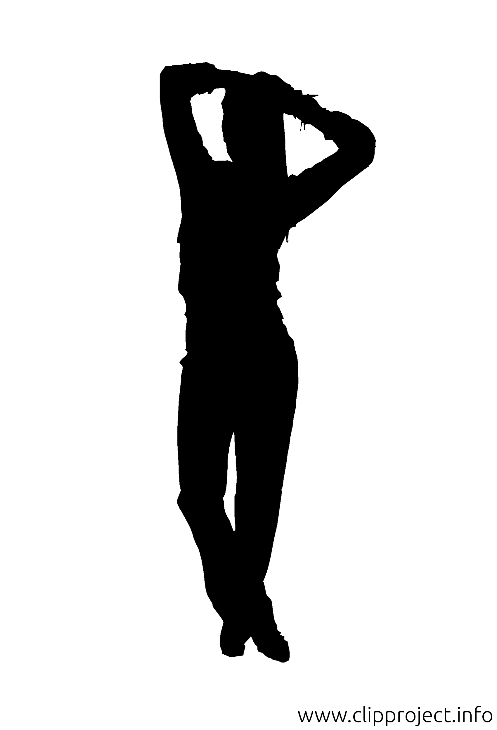1701x2500 Fitness Silhouettes Clip Art