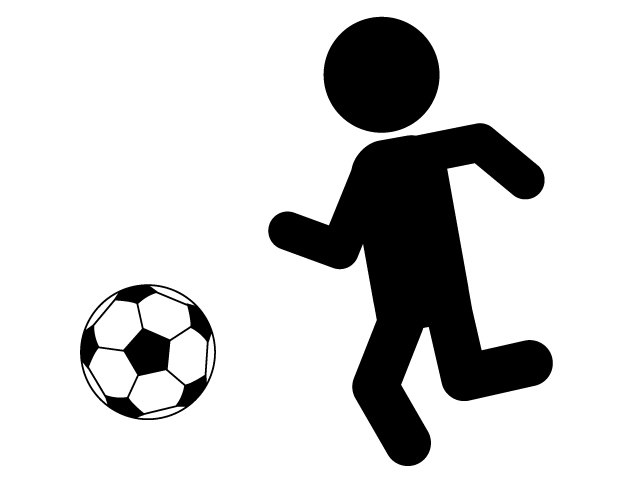 640x480 Rest Time Grand Football Pictogram Free Material