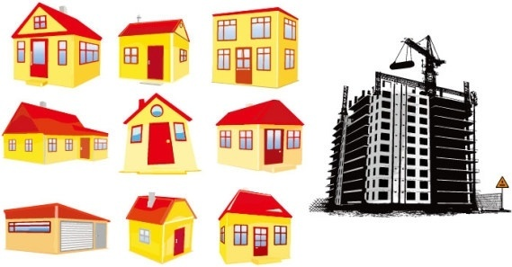 569x297 Building Free Vector Download (1,658 Free Vector) For Commercial
