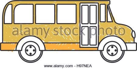 450x227 Silhouette Vehicle School Bus Education Transportation Stock