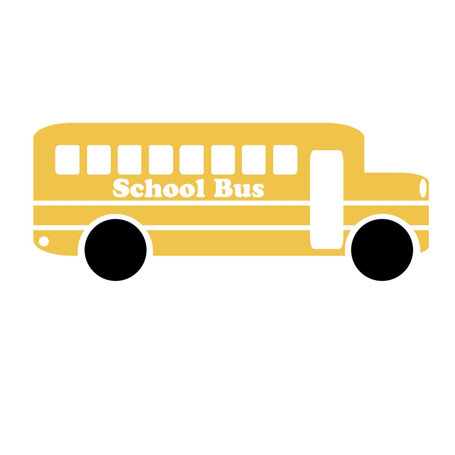 school bus silhouette at getdrawings com free for personal use rh getdrawings com School Bus Black and White School Bus Cut Out Pattern